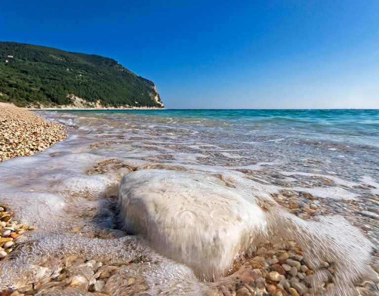 the beaches of sirolo